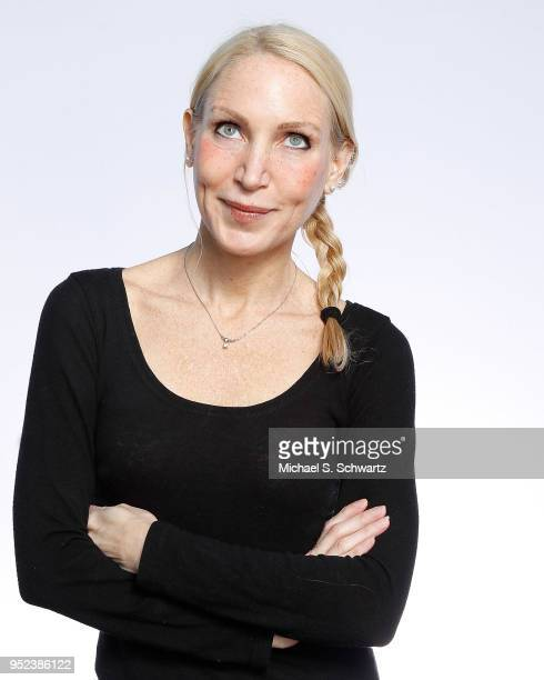 Comedian Alli Breen poses during her appearance at The Ice House Comedy Club on April 27 2018 in Pasadena California