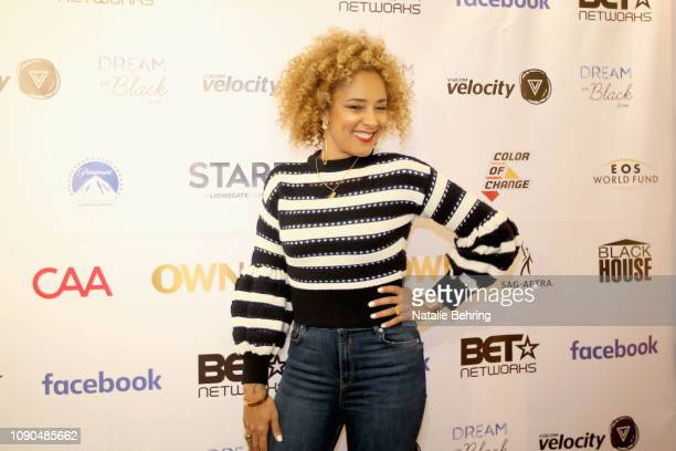 Comedian Amanda Seales attends I Be Knowin' A Candid Convo With Amanda Seales during the 2019 Sundance Film Festival at The Blackhouse Foundation on...