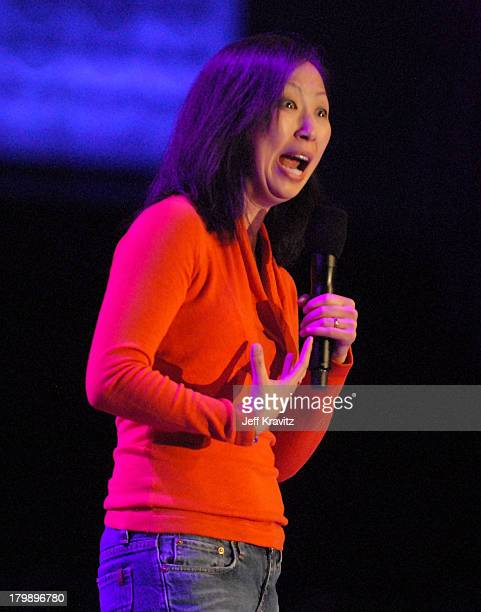 Comedian Amy Anderson on stage during Hot Tamales Live at the HBO AEG Live's The Comedy Festival 2007 at Caesars Palace on November 17 2007 in Las...