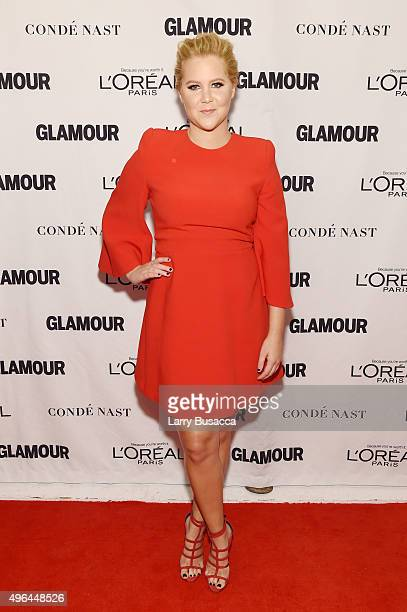 Comedian Amy Schumer attends 2015 Glamour Women Of The Year Awards at Carnegie Hall on November 9 2015 in New York City