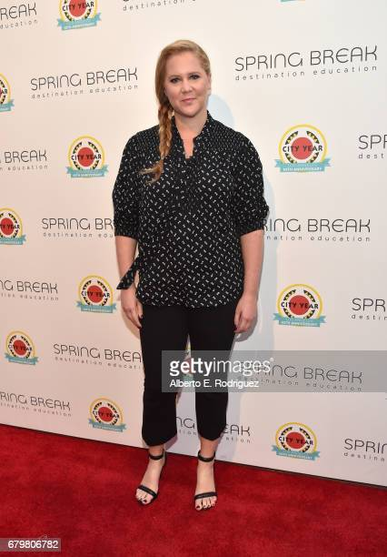 Comedian Amy Schumer attends City Year Los Angeles Spring Break on May 6 2017 in Los Angeles California