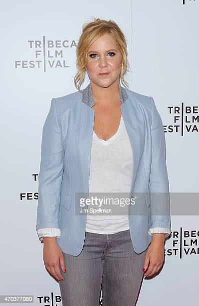 Comedian Amy Schumer attends the 2015 Tribeca Film Festival Tribeca Talks Inside Amy Schumer at Spring Studios on April 19 2015 in New York City