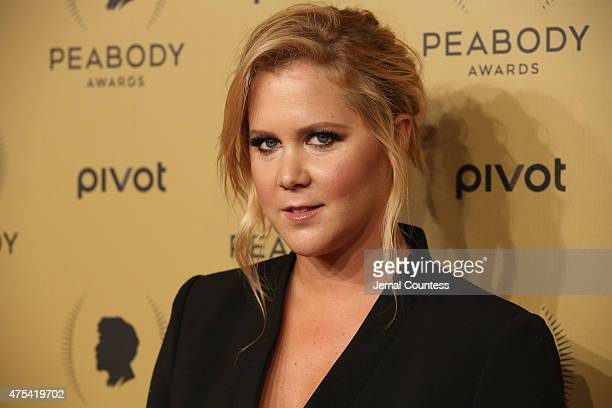 Comedian Amy Schumer attends The 74th Annual Peabody Awards Ceremony at Cipriani Wall Street on May 31 2015 in New York City