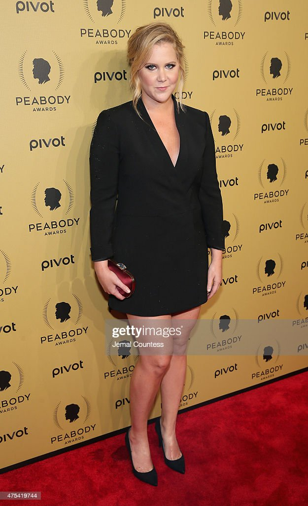 Comedian Amy Schumer attends The 74th Annual Peabody Awards Ceremony at Cipriani Wall Street on May 31, 2015 in New York City.