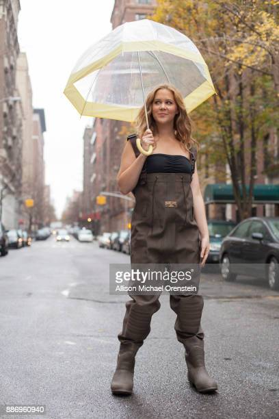 Comedian Amy Schumer is photographed for Bust Magazine on December 6 2011 in New York City