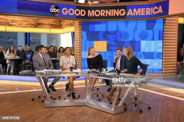 AMERICA Comedian Amy Schumer on 'Good Morning America' Monday March 6 2017 'Good Morning America' airs MONDAYFRIDAY on the ABC Television Network...