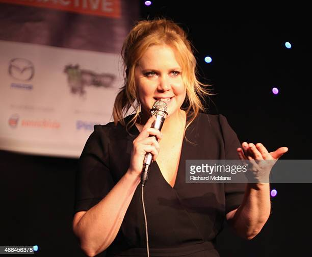 Comedian Amy Schumer performs at 'An Above Average Evening With The Upright Citizens Brigade Theatre' during the 2015 SXSW Music Film Interactive...