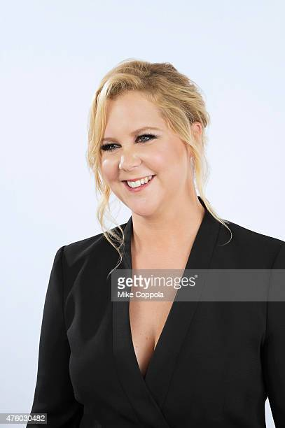 Comedian Amy Schumer poses for a portrait at The 74th Annual Peabody Awards Ceremony at Cipriani Wall Street on May 31 2015 in New York City