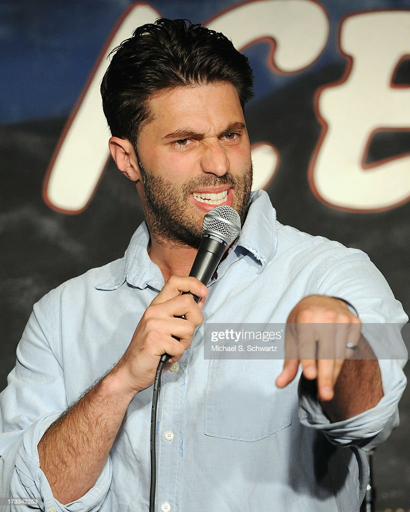 Comedian and actor Adam Ray performs during his appearance at The Ice House Comedy Club on July 11, 2013 in Pasadena, California.