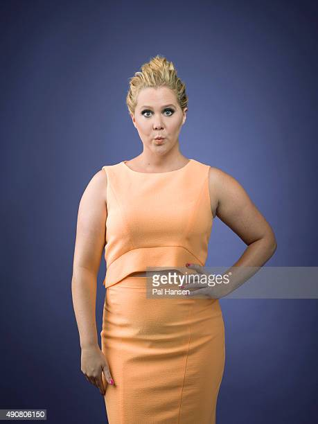Comedian and actor Amy Schumer is photographed for the Observer on June 4 2015 in London England