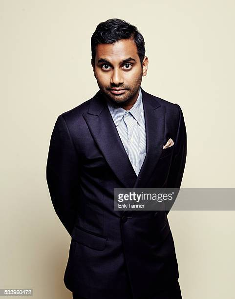 Comedian and actor Aziz Ansari poses for a portrait at the 75th Annual Peabody Awards Ceremony at Cipriani Wall Street on May 21 2016 in New York City
