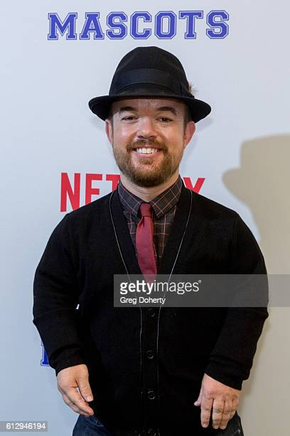 Comedian and Actor Brad Wiliams arrives at a Screening Of Netflix's Mascots at the Linwood Dunn Theater on October 5 2016 in Los Angeles California