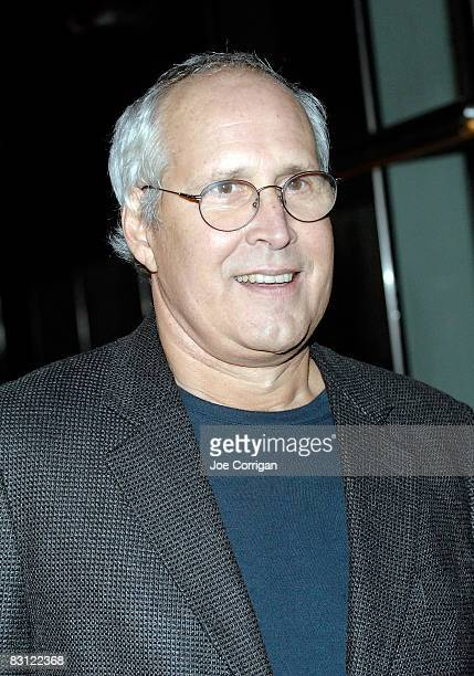 Comedian and actor Chevy Chase attends the wedding of Howard Stern and Beth Ostrosky at Le Cirque on October 3 2008 in New York City
