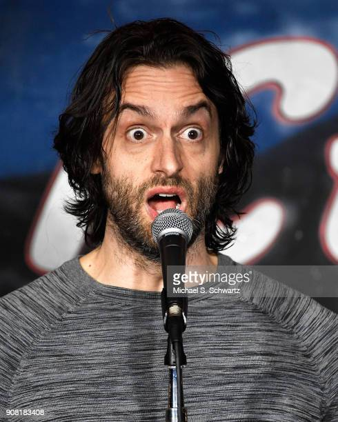Comedian and actor Chris D'Elia performs during his appearance at The Ice House Comedy Club on January 20 2018 in Pasadena California