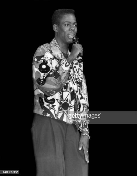 Comedian and actor Chris Rock performs at the Regal Theater in Chicago Illinois in APRIL 1993