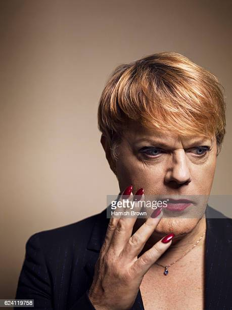 Comedian and actor Eddie Izzard is photographed for the Independent on November 25, 2015 in London, England.