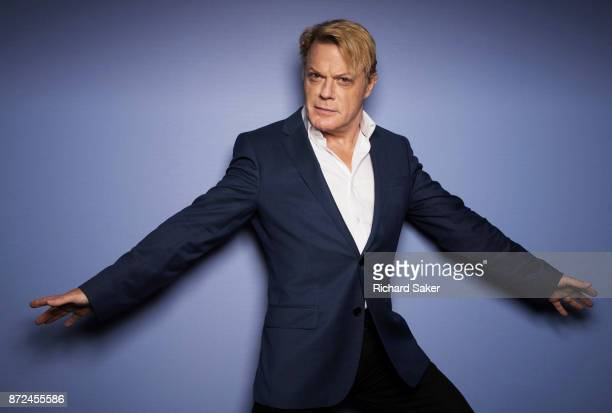 Comedian and actor Eddie Izzard is photographed for the Observer on September 8 2017 in London England