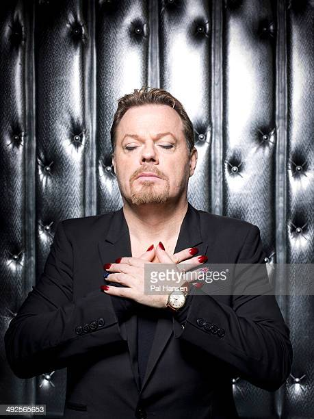 Comedian and actor Eddie Izzard is photographed for the Sunday Times on March 13 2013 in Paris France