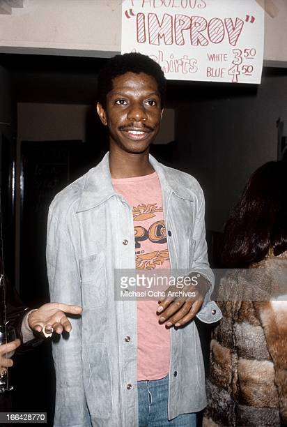 Comedian and actor Jimmy Walker at the Improv circa 1977 in Los Angeles California