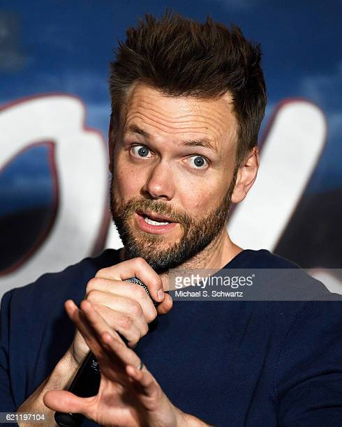 Comedian and actor Joel McHale performs during his appearance at The Ice House Comedy Club on November 4 2016 in Pasadena California