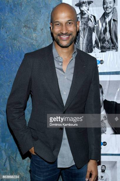 Comedian and Actor KeeganMichael Key attends GQ x GAP Coolest Designers on the Planet 2017 at St Ann's Warehouse on September 25 2017 in New York City