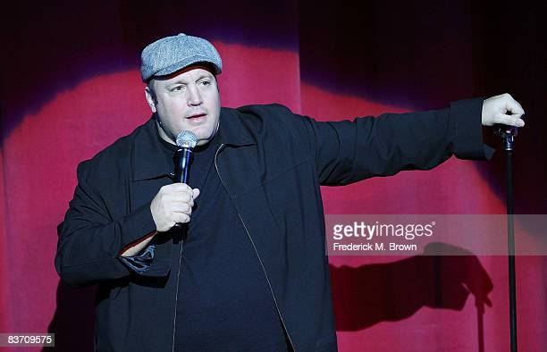 Comedian and actor Kevin James performs during the International Myeloma Foundation Second Annual Comedy Celebration at the Wilshire Ebell Theatre on...