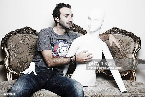Comedian and actor Mathieu Madenian is photographed for Paris Match on September 18, 2012 in Paris, France.