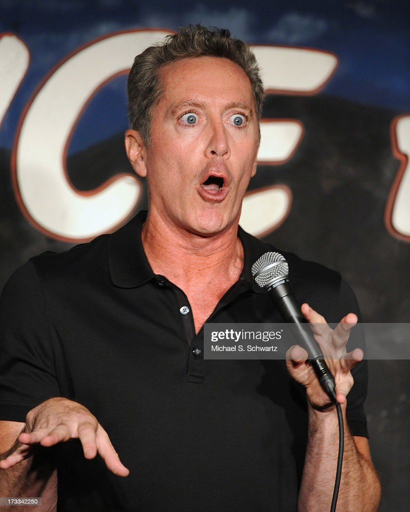 Comedian and actor Michael McDonald performs during his appearance at The Ice House Comedy Club on July 11, 2013 in Pasadena, California.