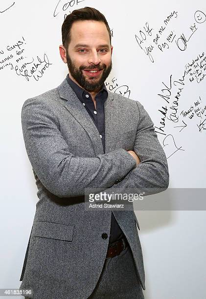 Comedian and actor Nick Kroll attends AOL Build Speaker Series at AOL Studios In New York on January 20 2015 in New York City