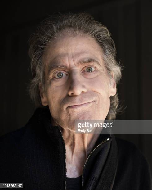 Comedian and actor Richard Lewis is photographed for the Washington Post on February 20 2020 at home in Los Angeles California