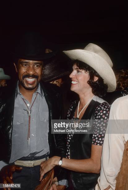 Comedian and actor Richard Pryor and his future wife Jennifer Lee attend the annual SHARE party at the Hollywood Palladium on May 19 1979 in Los...