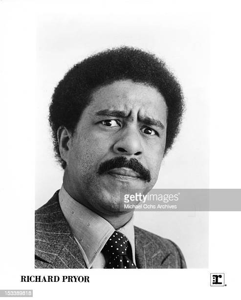 Comedian and actor Richard Pryor poses for a Reprise Records publicity photo in 1976 in Los Angeles California