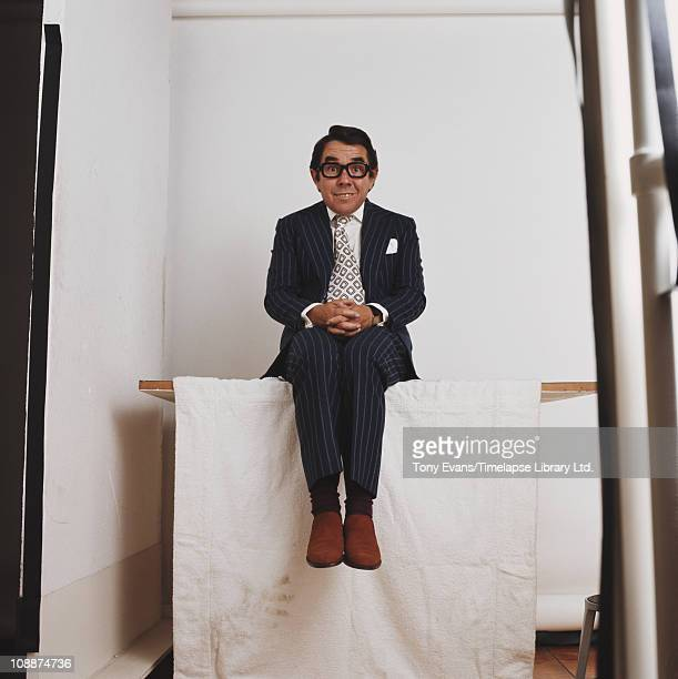 Comedian and actor Ronnie Corbett, 1974.