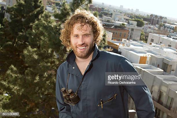 Comedian and actor TJ Miller is photographed for Los Angeles Times on January 12 2016 in Hollywood California PUBLISHED IMAGE CREDIT MUST READ...