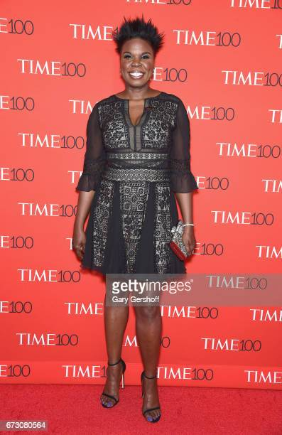 Comedian and actress Leslie Jones attends the Time 100 Gala at Frederick P Rose Hall Jazz at Lincoln Center on April 25 2017 in New York City