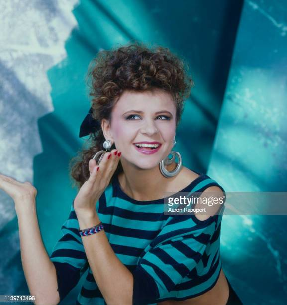 Comedian and actress Tracey Ullman poses for a portrait circa 1988 in Los Angeles California