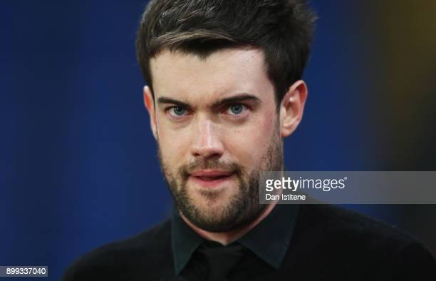 Comedian and Arsenal fan Jack Whitehall looks on prior to the Premier League match between Crystal Palace and Arsenal at Selhurst Park on December 28...