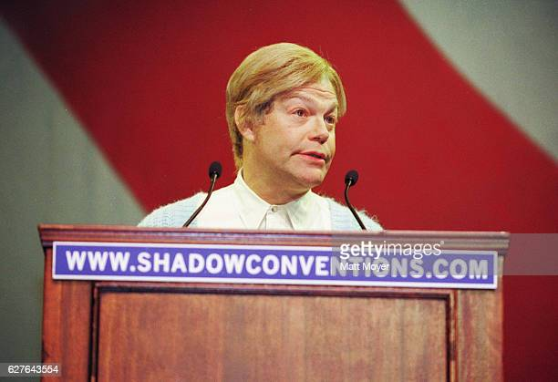 Comedian and author Al Franken appears as his famous Saturday Night Live character Stuart Smalley at the Convention