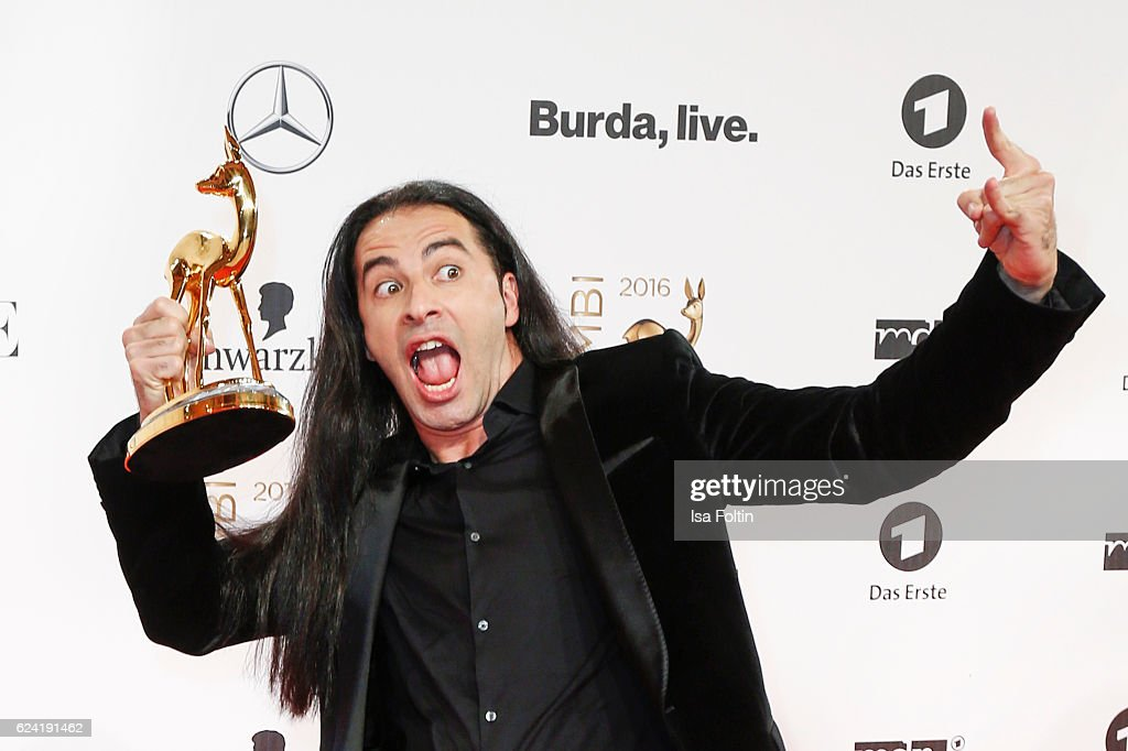 Comedian and award winner Buelent Ceylan during the Bambi Awards 2016 at Stage Theater on November 17, 2016 in Berlin, Germany.