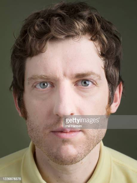 Comedian and broadcaster Elis James is photographed for the Observer on April 18 2019 in London England
