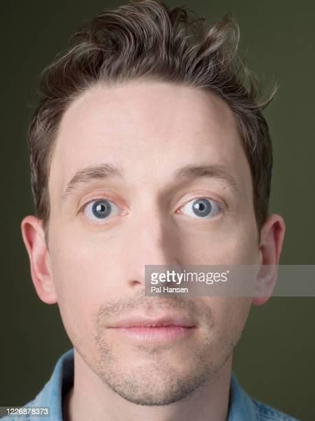 Comedian and broadcaster John Robins is photographed for the Observer on April 18 2019 in London England