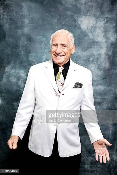 Comedian and filmmaker Mel Brooks is photographed for Los Angeles Times on October 5 2016 in Los Angeles California PUBLISHED IMAGE CREDIT MUST READ...