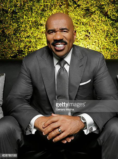Comedian and game show host Steve Harvey is photographed for Los Angeles Times on October 28 2016 in Los Angeles California PUBLISHED IMAGE CREDIT...