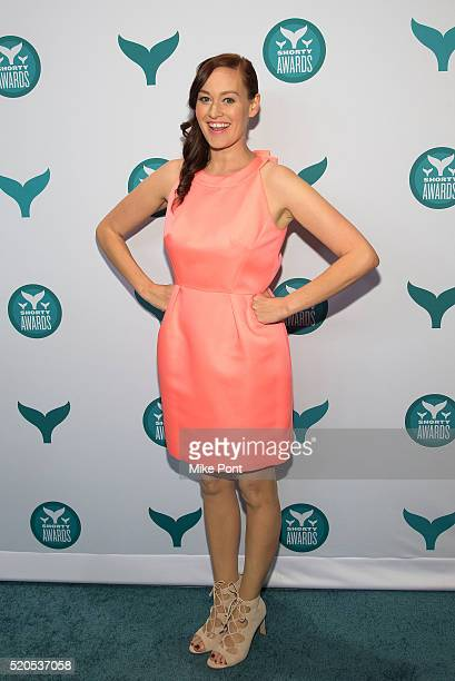 Comedian and host Mamrie Hart attends the 8th Annual Shorty Awards at The New York Times Center on April 11 2016 in New York City