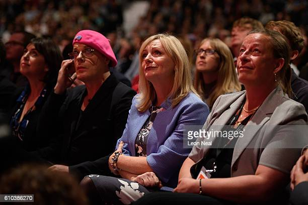 Comedian and Labour activist Eddie Izzard Actress and Labour party byelection candidate Tracy Brabin and Labour party activist Catherine Pinder...