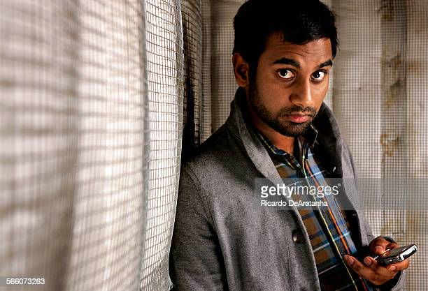 CITY CA – NOVEMBER 12 2009 – Comedian and Parks and Recreation actor Aziz Ansari photographed at CBS Radford in Studio City November 12 2009 Photo to...