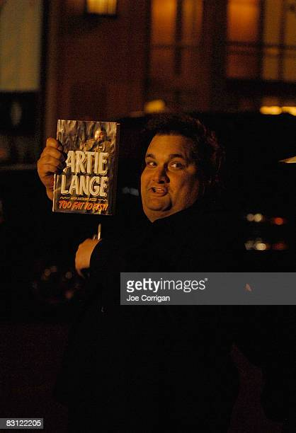 Comedian and radio personality Artie Lange attends the wedding of Howard Stern and Beth Ostrosky at Le Cirque on October 3 2008 in New York City