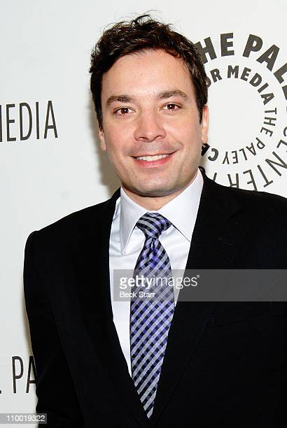 """Comedian and talk show host Jimmy Fallon arrives at the Paley Center for Media's PaleyFest 2011 event honoring """"An Evening With Jimmy Fallon"""" at the..."""