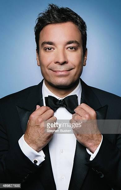 Comedian and television host Jimmy Fallon is photographed for Emmy Facebook Page on May 31 2012 in Los Angeles California