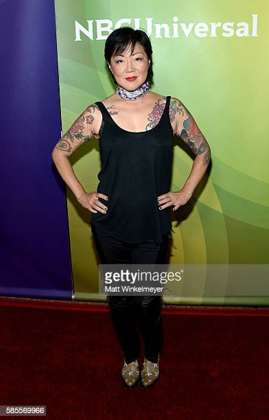 Comedian and Television Personality Margaret Cho attends the NBCUniversal press day 2 during the 2016 Summer TCA Tour at The Beverly Hilton Hotel on...
